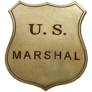 Code: G103 Replica U.S.Marshall Badge
