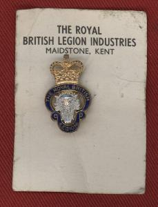 Royal British Legion Badge