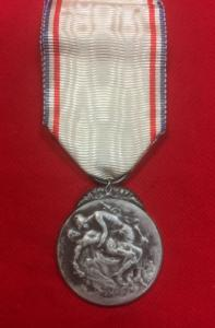 WW1 French  Medal Of Gratitude