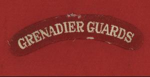 WW2 British Grenadier Guards Shoulder Title