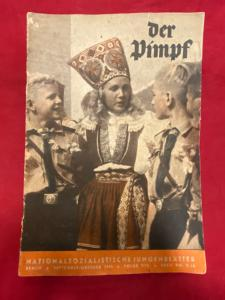 WW2 German Hitler Youth 'Der Pimpf' Magazine