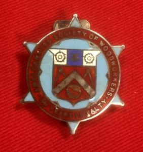 British Woodworkers Society Enamel Badge