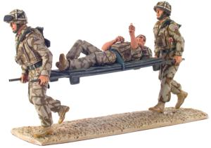 10027 - Help For Heroes - Modern British Army Stretcher Bearer Set, Iraq, 2007