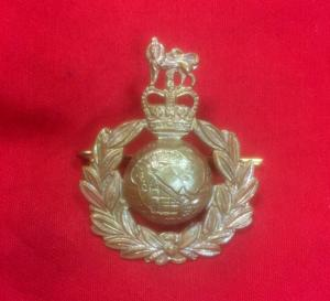 British Royal Marines Cap Badge
