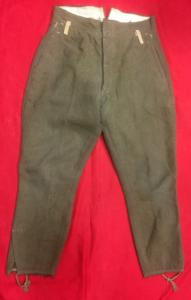 WW2 Japanese Army M38 Winter Trousers