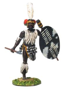 20005 - Zulu uMbonambi Regiment Charging No.1