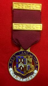 West Lancashire Masonic Charity Jewel Medal