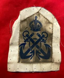 WW2 British Royal Navy Petty Officer Sleeve Insignia