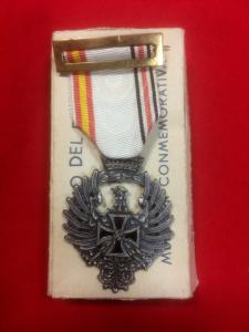WW2 German Spanish Volunteer Medal With Issue Box