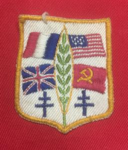 WW2 Allied Occupation Flags Badge