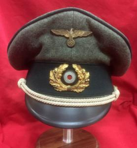 WW2 German Kriegsmarine Coastal Artillery Officer's Cap