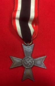 WW2 German War Merit Cross With Swords 2nd Class