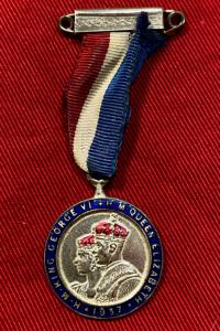 1937 Commemorative Coronation Medal