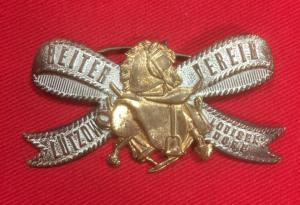 Imperial German Lutzow Cavalry  Veterans Badge