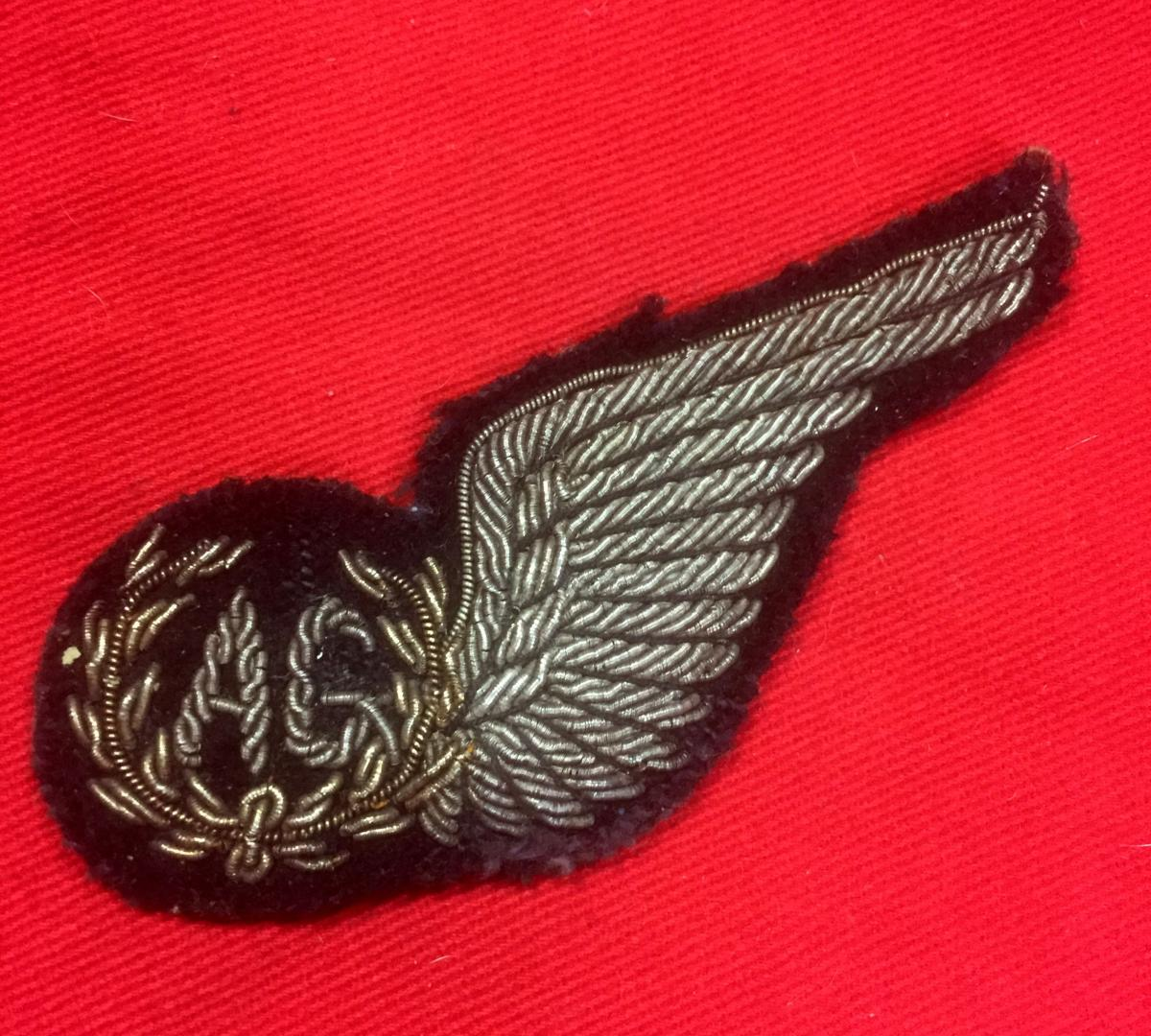 WW2 British R A F  Air Gunner Brevet Badge