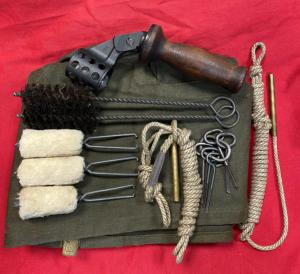 WW2 British Bren Gun Cleaning Kit & Cover