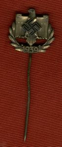 WW2 German NSRL 1939 Achievement Badge