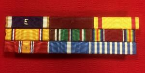 WW2 U.S. Navy Ribbon Bar