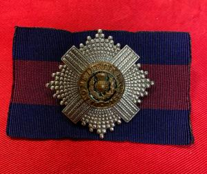 WW2 British Scots Guards Officer's Cap Badge