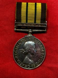 Africa G.S.M. Kenya Clasp Royal Northumberland Fusiliers