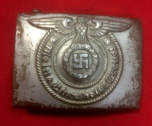 Replica WW2 German Waffen SS EM's Belt Buckle