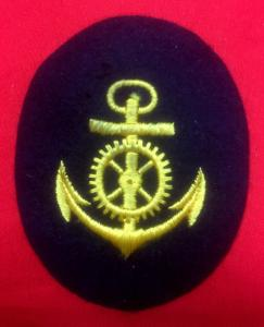 WW2 German Kriegsmarine Engine NCO's Sleeve Insignia