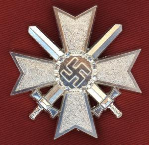 Replica WW2 German War Merit Cross 1st Class With Swords