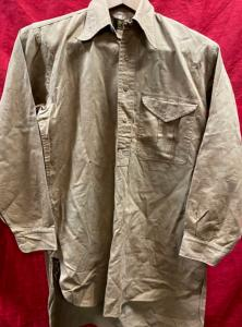 WW2 British EM's Private Purchase Shirt