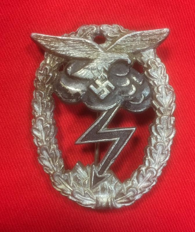 Replica WW2 German Luftwaffe Ground Assault Badge