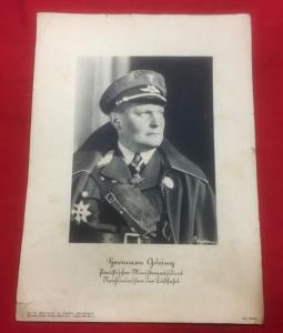 WW2 German Hermann Goring Print
