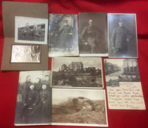 WW1 British Postcard/Photo Collection
