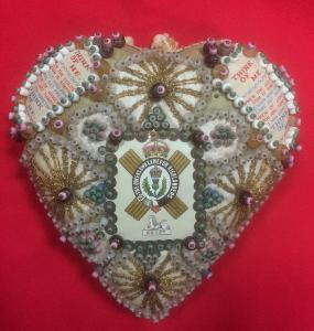 WW1 Queen's Own Cameron Highlanders Sweetheart Pin Cushion