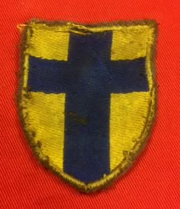 WW2 British Army Hamburg District HQ Sleeve Patch