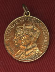 1937 Coronation Medallion