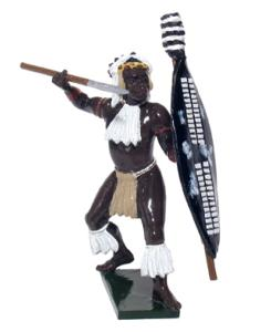 45005 - Zulu inGobamakhosi Regiment Throwing Spear