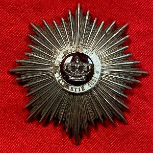 Romanian Order Of The Crown Of Romania-Grand Officer's Star Second Class
