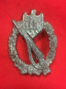 Replica German Infantry Assault Badge In Silver