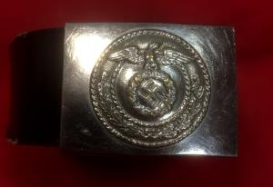 WW2 German NSKK Belt & Buckle
