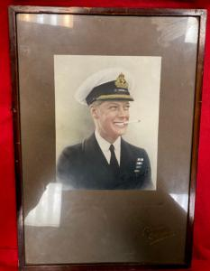 Edward Prince Of Wales Signed & Framed Portrait