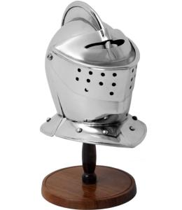 Code: S5504/MINI Replica Miniature Armet Helmet With Stand