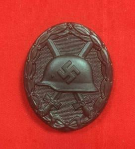 Replica WW2 German Wound Badge In Black