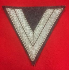 WW2 German Luftwaffe Obergefreiter Rank Chevron
