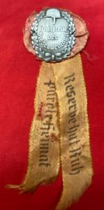 WW2 German Veteran Reservemann's Ribbon Badge