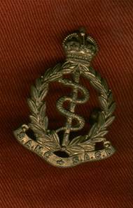WW2 South African Medical Corps Cap Badge