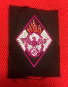 Replica WW2 German Metal and Cloth Insignia