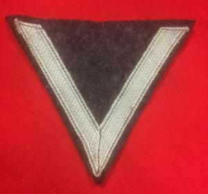WW2 German  Luftwaffe Gefreiter Rank Chevron