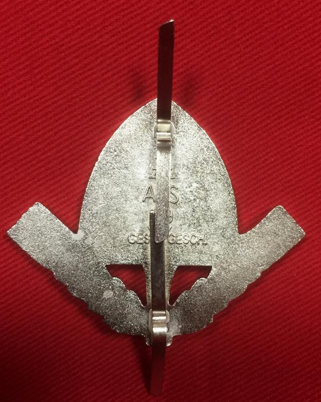 Replica WW2 German RAD Officers Cap Badge