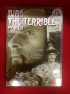 Ivan The Terrible DVD's Set
