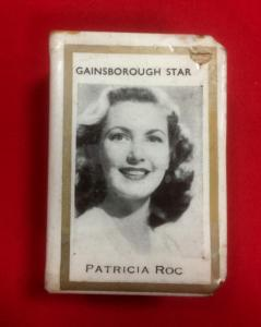 WW2 British Gainsborough Film Stars Matchbox Holder