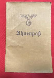 WW2 German Ahnenpass